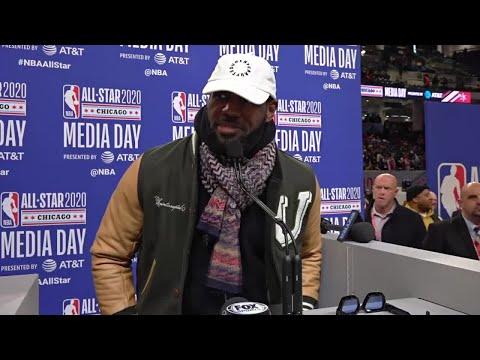All-Star 2020 Captain LeBron James' Full Media Day Availability