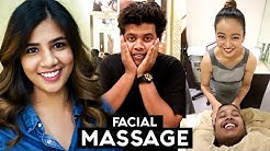 Facial Massage and Hair Transformation at Zique Salon, Chennai.