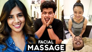 Facial Massage and Hair Transformation at Zique Salon, Chennai