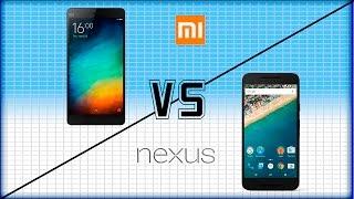 Nexus 5X Vs Xiaomi Mi 4C por PSN Andy y Lucas