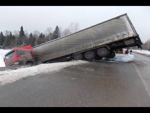 Truck Crash Compilation  October 2016 ✦ Truck Accident 2016 ✦ Russian Car Crash Compilation