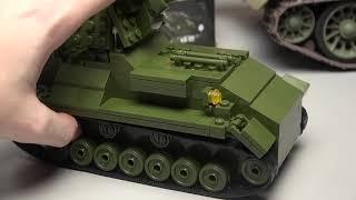 Конструктор аналог Lego Військові іграшки огляд відео для дітей.