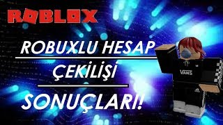 Roblox Robuxlu Account Lottery (RESULTS!)