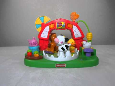 Sing Along Activity Barnyard Fisher Price