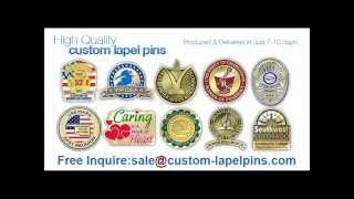 Customized Lapel Pins Have an effect on Tradeshow Impressions.wmv