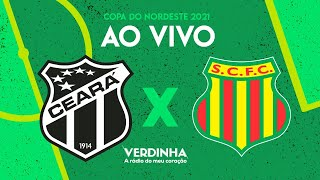 AO VIVO: Ceará x Sampaio Corrêa - Copa do Nordeste - Quartas de final - 18/04/2021