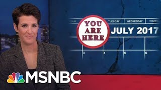 The Donald Trump Russia Political Crisis: A Timeline In Breaking News | Rachel Maddow | MSNBC