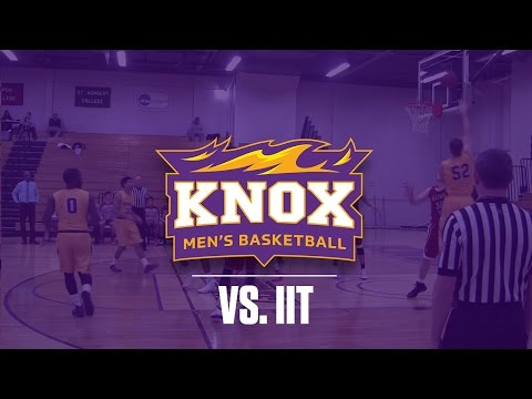 Knox College Men's Basketball vs Illinois Institute of Technology 12-28-16