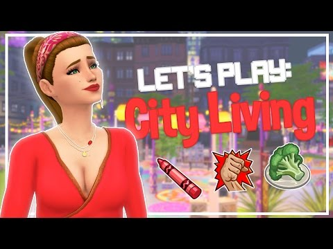 The Sims 4: City Living // Part 1 - SINGLE MOMMA