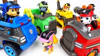 Go Go Paw Patrol Mission Paw Vehicles~! What Is The Mission Of Today? - ToyMart TV