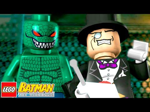 DESTRUINDO O SUBMARINO DO PINGUIM LEGO Batman The Videogame #7