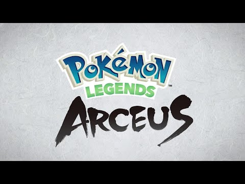 Pokémon Legends Arceus: A familiar region. A new story.