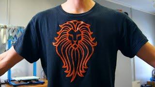 Crazy Flexible 3D Printed T-shirt Design