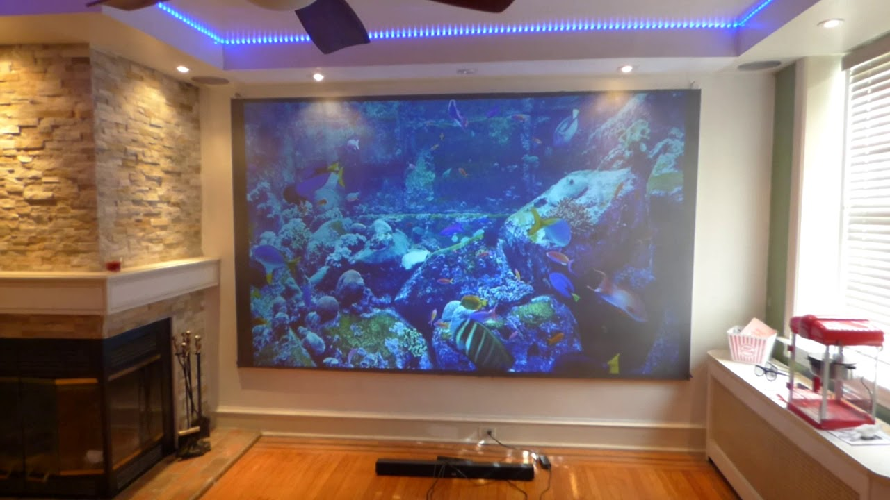 I Just Order A Viewsonic Px747 4k 4k Projector For Our New Luminous Dedicated 4k Screens Youtube