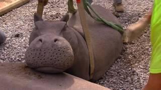Hippo Exhibit getting Finishing Touches - Cincinnati Zoo thumbnail