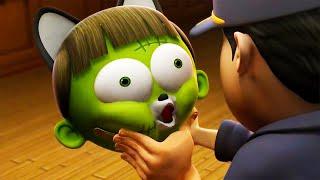 Freaky Zombie | Spookiz | Cartoons rau Cov Menyuam