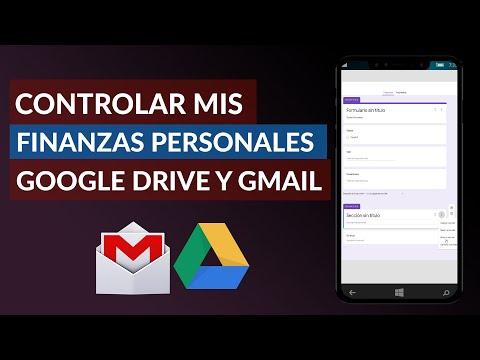 Cómo Puedo Controlar y Organizar mis Finanzas Personales Usando Google Drive y Gmail