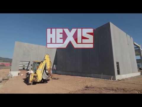 HEXIS GRAPHICS - PRIMERA PIEDRA NUEVA SEDE EN LA GARRIGA (BARCELONA)