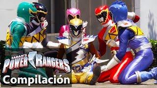 Power Rangers en Español   Dino Super Charge: La Derrota de los Rangers!