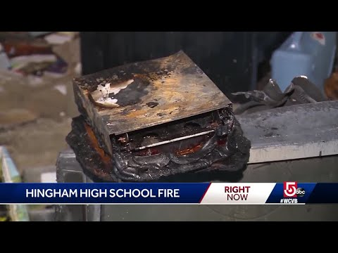 Electrical fire cancels classes at Hingham High School