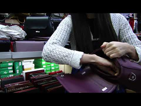 Видеообзор женской кожаной сумки