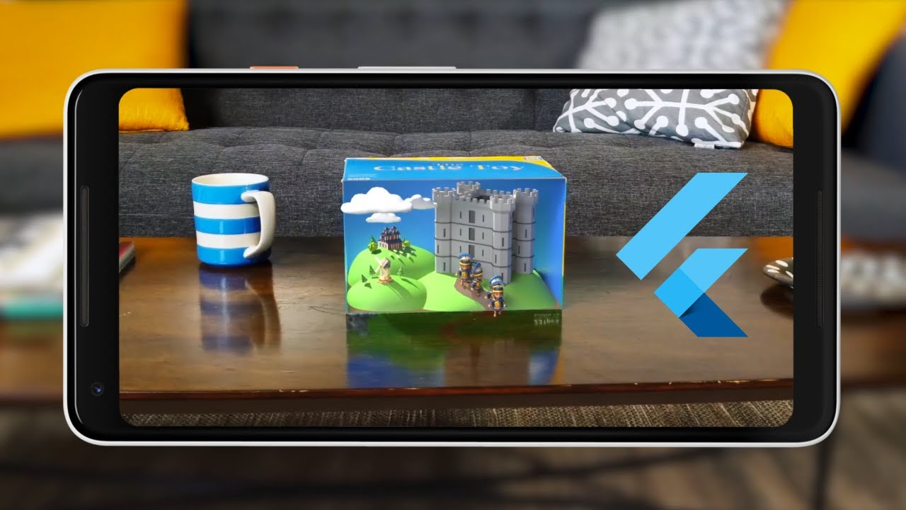 Flutter ARCore Image Tracking    AR Image Object App - Flutter 2 Augmented Reality Tutorial 2021