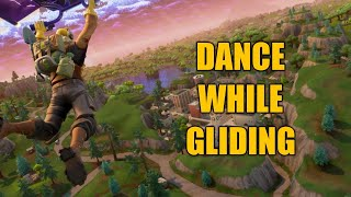 How to Dance While Gliding in Fortnite