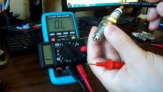 Свечи зажигания инжекторных авто как проверить мультиметром,какие показания должны быть