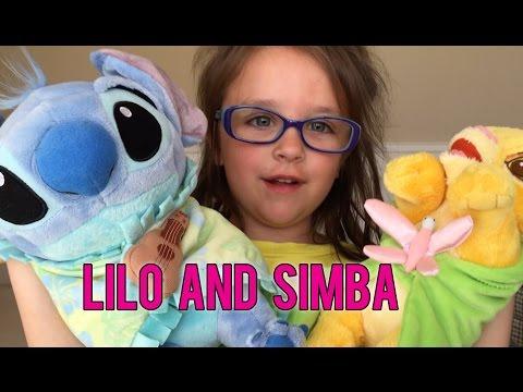 Janie's Playdate: Disney Babies Simba and Lilo Plush
