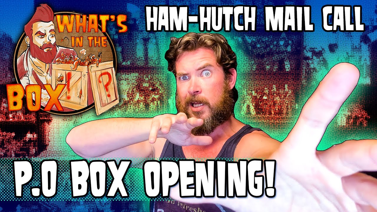 Ham Hutch PO Box Opening - Some tasty tidbits I never thought I'd get my hands on By Ham Man