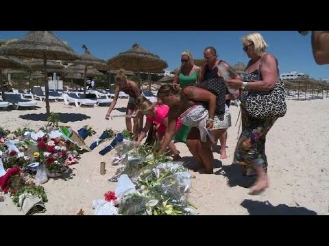 Tourists at Tunisian resort don't blame Tunisians for attack