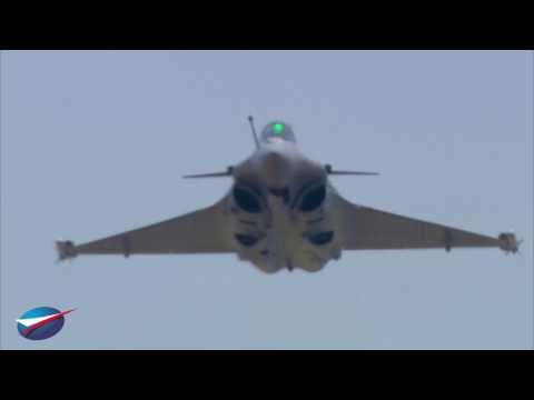 21 June - Flying Display of the Rafale at Paris Air Show 2017
