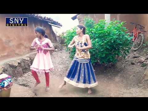 Village Little Girls Sambalpuri Dance   Pakhan Upere Jharan Pani