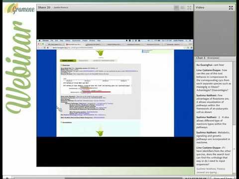Gramene webinar Aug2015 : Plant Reactome