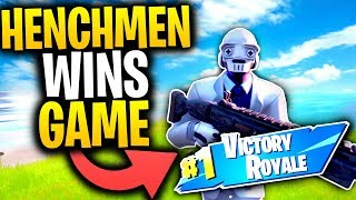 What Happens When A HENCHNMEN WINS A Game Of FORTNITE? | Fortnite Mythbusters