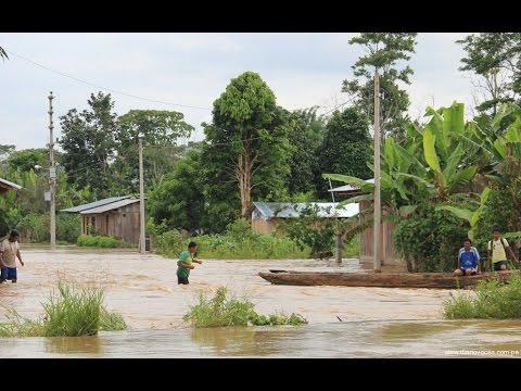Inundación en Huicungo - ( Puerto Turístico ) - 2015
