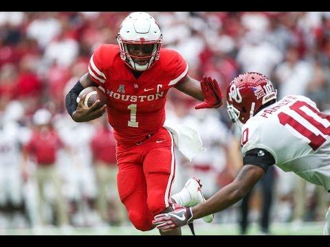 2016 American Football Highlights - #15 Houston 33, #3 Oklahoma 23