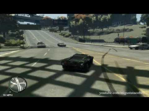 Grand Theft Auto IV - Car Fun and Infernus Destruction