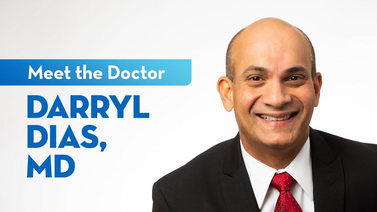 Meet Dr. Darryl Dias — Cardiologist at St. Elizabeth #cardiology