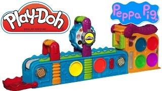 Play Doh Mega Fun Factory Peppa Pig, Play Doh Spin
