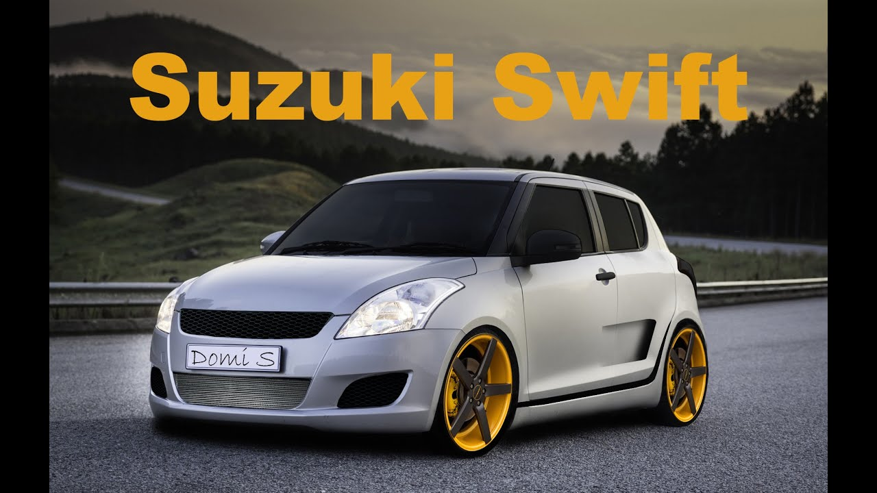 photoshop cc virtual car tuning suzuki swift youtube. Black Bedroom Furniture Sets. Home Design Ideas