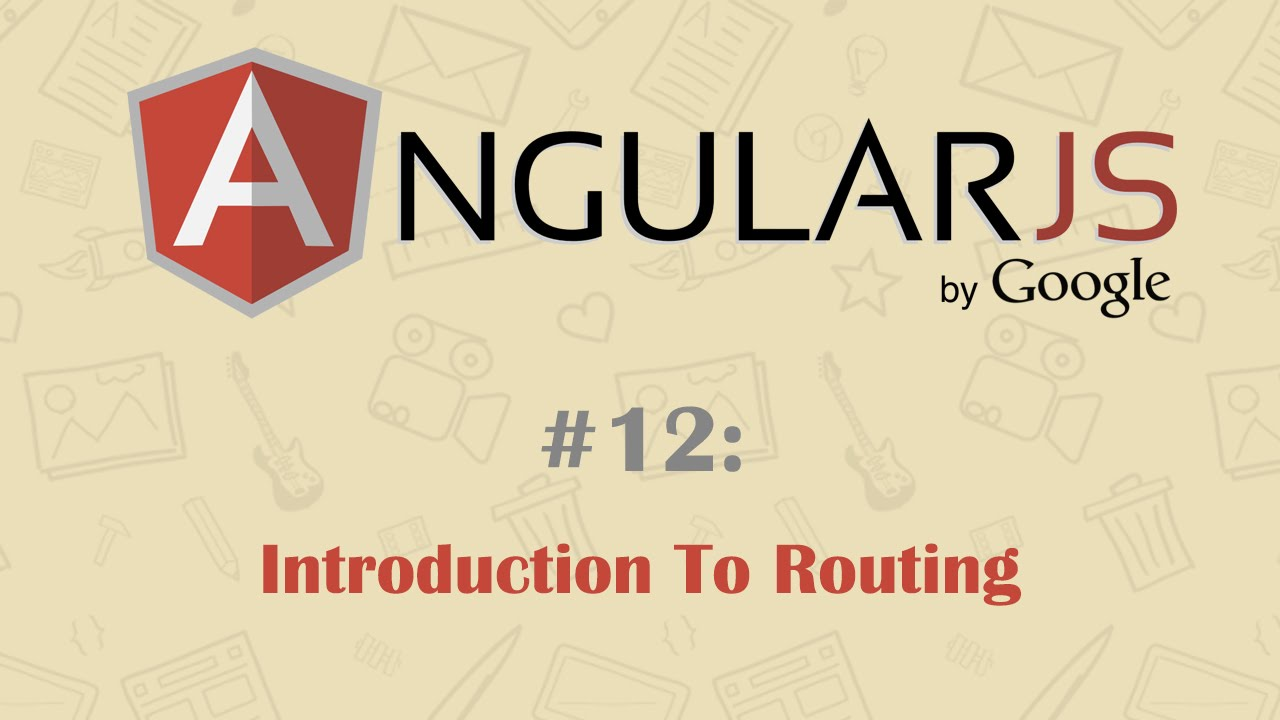 Angularjs tutorial 12 introduction to routing youtube angularjs tutorial 12 introduction to routing baditri Choice Image