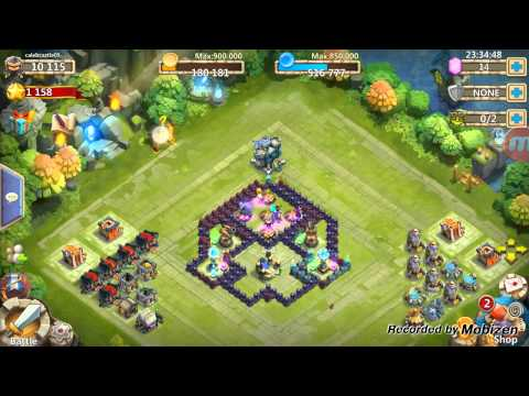 Castle Clash - How To Get Exp Books Fast-