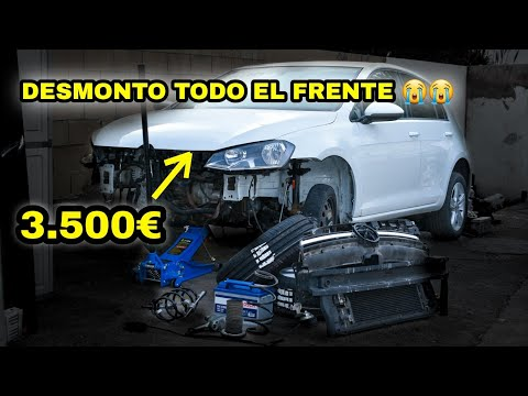 GOLF 7 ACCIDENTADO | Desmonto Frente | Monto Suspension [parte 19]