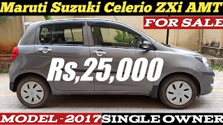Maruti Suzuki Celerio ZXi AMT   For Sale Rs,25,000 Only   2017 Model Have a Look