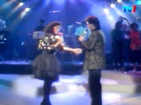 Pertemuan romantik Jamal Abdilah & Fran - Kehebatan Cinta Live @ Hiburan Minggu Ini 1988