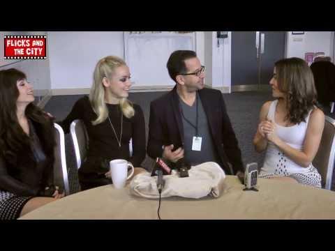 Lost Girl Season 4 & 3 Interview - Ksenia Solo, Rachel Skarsten, Emmanuelle Vaugier & Jay Firestone