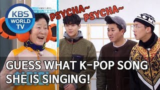 Guess what K-Pop song she is singing! [2 Days & 1 Night Season 4/ENG/2020.03.01]