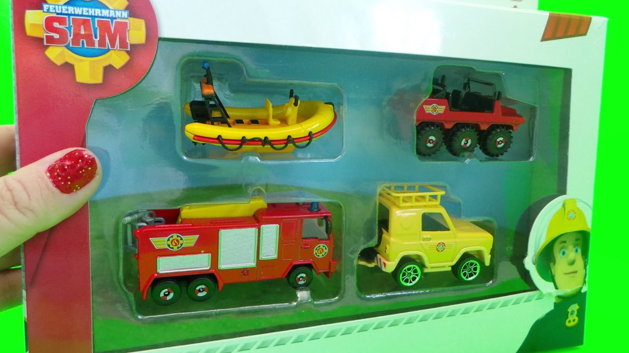 Feuerwehrmann Fireman Sam DICKIE Toys Jupiter Fire Engine