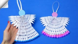 Paper angels | How to make paper angels | Paper angels diy
